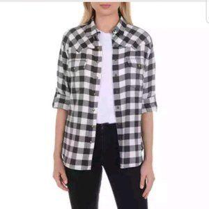 JACHS GIRLFRIEND Ladies Flannel Shirt SZ XL
